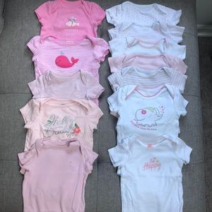 Baby Girls Onsie Bundle